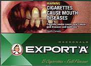 Φωτογραφίες που σοκάρουν στα πακέτα των τσιγάρων