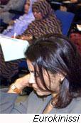 Εξέταση με ξύδι στον τράχηλο της μήτρας για προκαρκινική διάγνωση