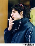 Ο θυμός κάνει τους άντρες ...να καπνίζουν