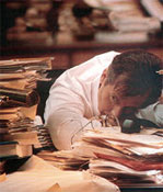 Αγχος στη δουλειά και κατάθλιψη εχθροί της καρδιάς