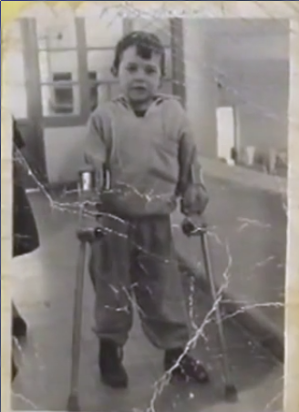 Γρηγόρης Τζιστούδης: η πολιομυελίτιδα δεν τον εμπόδισε να φτάσει στην κορυφή