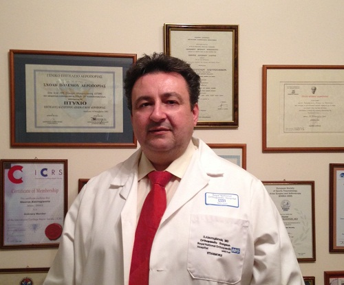 Σταύρος Αλευρογιάννης, MD, PHD, Ορθοπαιδικός Χειρουργός